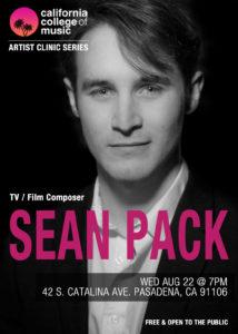 Artist Clinic Series - Sean Pack